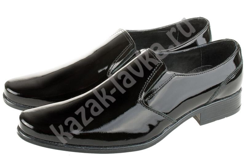 Туфли офицерские форменные уставные лакированные(лицевая кожа лак) dbec55a1c1869